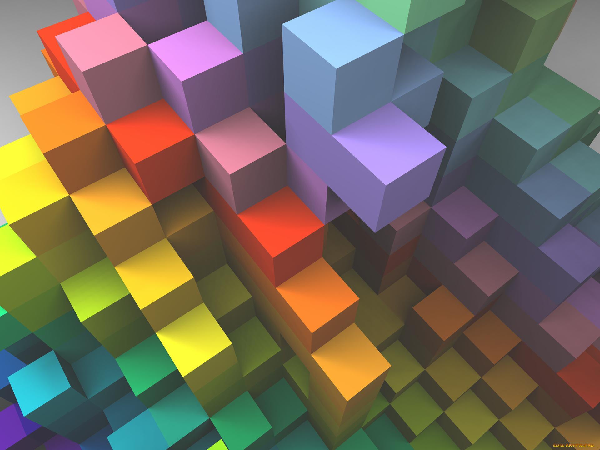абстрактные картинки с кубиками больница